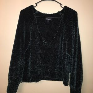 Low V Express Sweater
